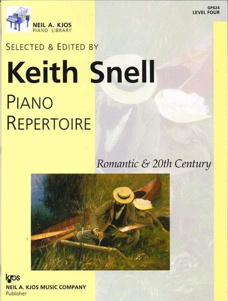 Piano Repertoire: Romantic & 20th Century, Level 4