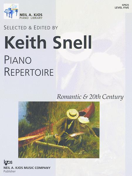 Piano Repertoire: Romantic & 20th Century, Level 5