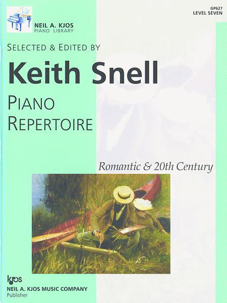 Piano Repertoire: Romantic & 20th Century, Level 7