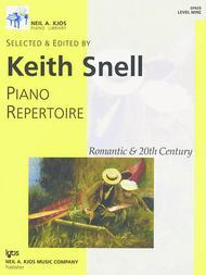 Piano Repertoire: Romantic & 20th Century, Level 9