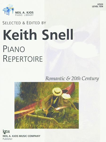 Piano Repertoire: Romantic & 20th Century, Level 10