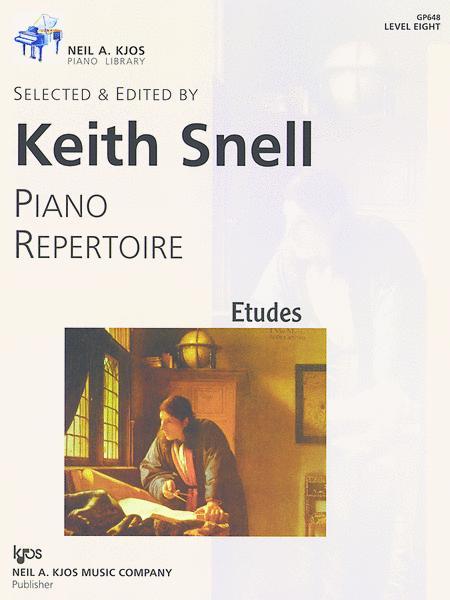 Piano Etudes Level 8