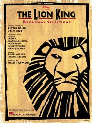 The Lion King - Broadway Selections (Vocal Selections)