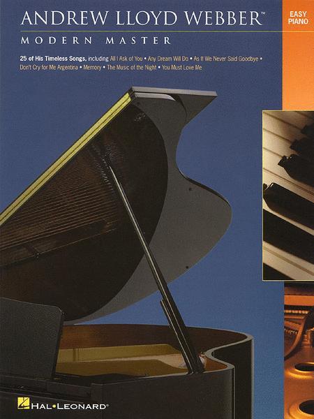 Andrew Lloyd Webber - Modern Master - Easy Piano