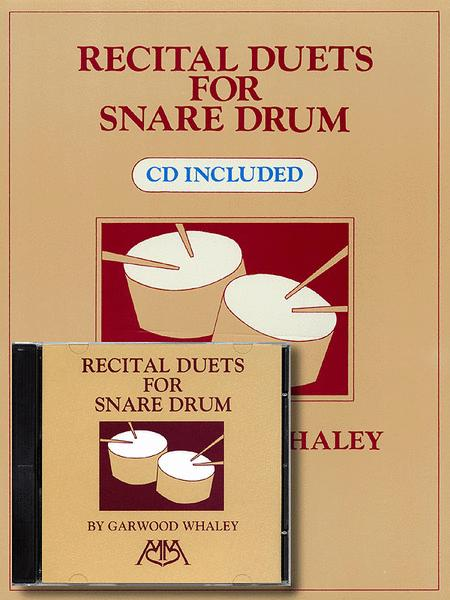Recital Duets for Snare Drum (CD Included)