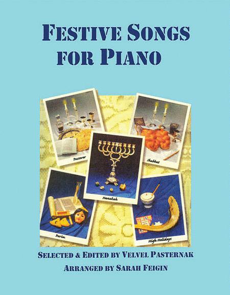 Festive Jewish Songs for Piano