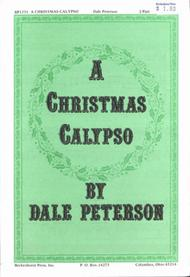 a christmas calypso sheet music 2 part by dale peterson