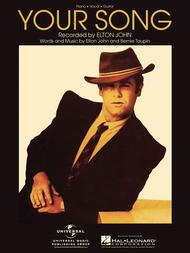 Your Song By Elton John - Single Sheet Music For Guitar ...