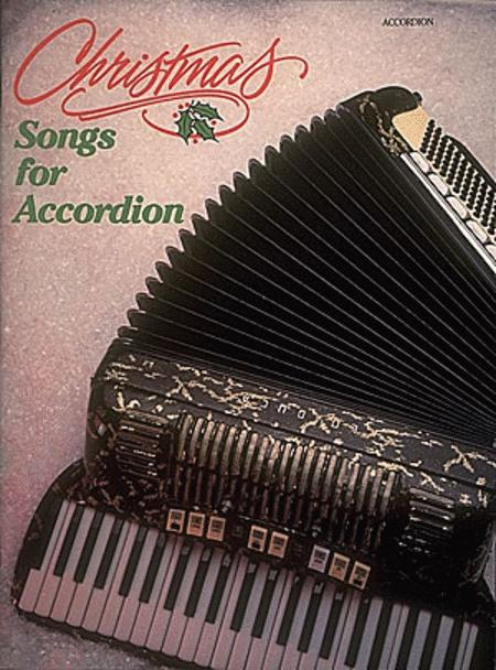 Christmas Songs For Accordion Sheet Music By Various - Sheet