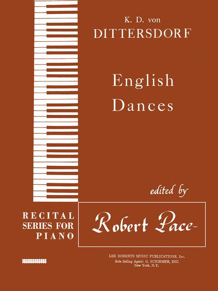 Recital Series for Piano - English Dances - Book V (Brown)