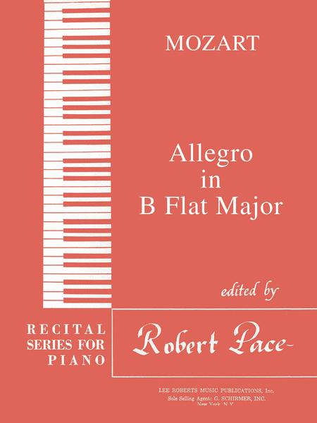 Allegro in B Flat Major