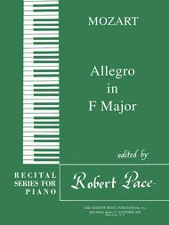 Allegro in F Major