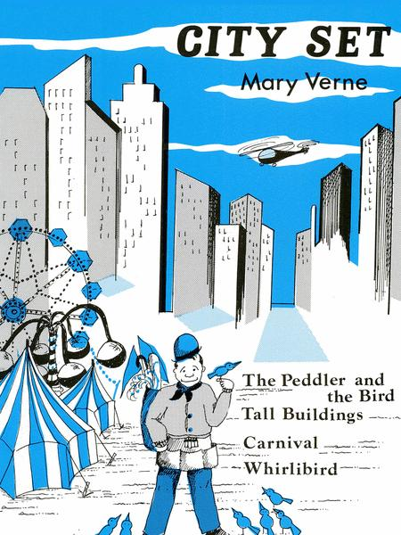 Recital Series For Piano, Blue (Book I) City Set (Peddler & The Bird, Tall Building)