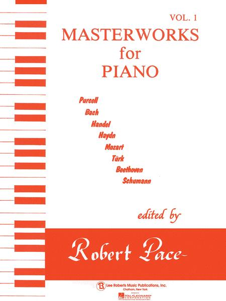 Masterworks for Piano - Volume 1