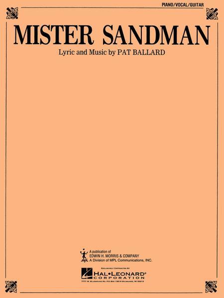 Preview Mister Sandman By Emmylou Harris Hl381500 Sheet Music Plus