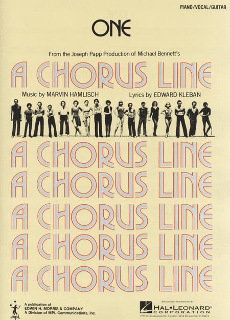 One (From 'A Chorus Line')