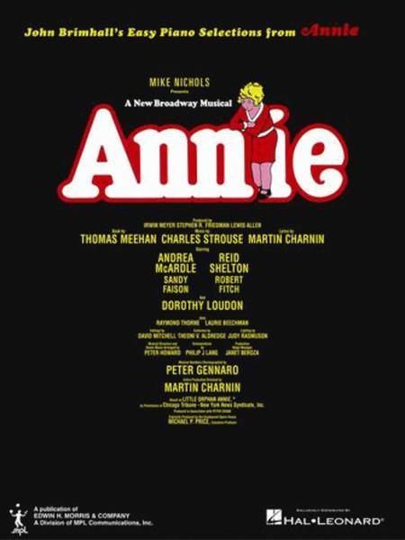 Annie - Easy Piano