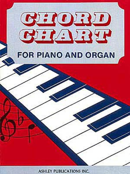 Chord Chart For Piano And Organ