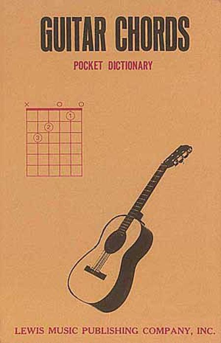 Guitar Chord & Scale Book Guitar Chords Pocket Dictionary