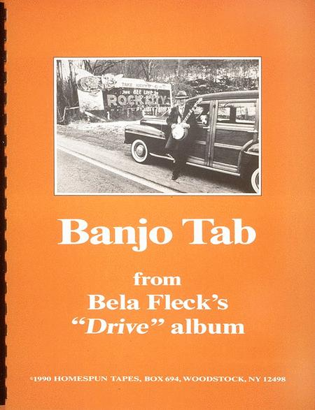 Banjo Tab From Bela Fleck's Drive Album