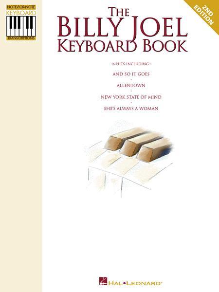 The Billy Joel Keyboard Book