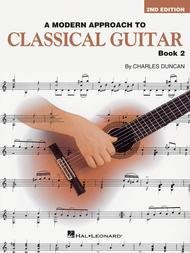 A Modern Approach To Classical Guitar - Book 2