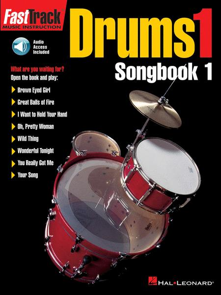 FastTrack Drums Songbook 1 - Level 1
