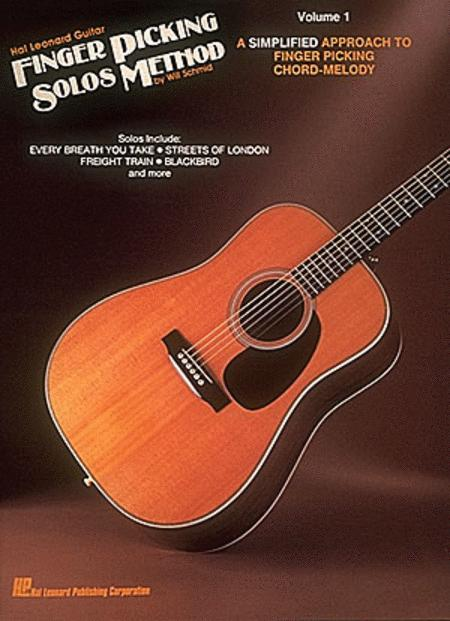 hal leonard guitar finger picking solos method sheet music by will schmid sheet music plus. Black Bedroom Furniture Sets. Home Design Ideas