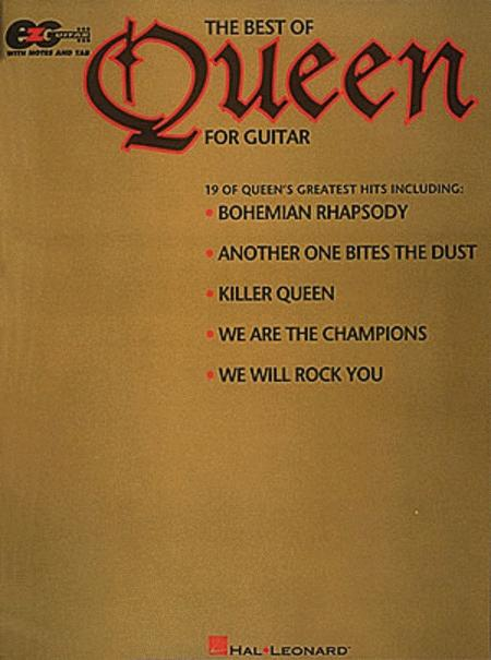 The Best Of Queen For Guitar - Easy Guitar