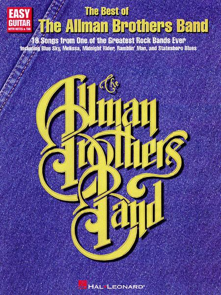 The Best Of The Allman Brothers Band - Easy Guitar