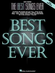 Best Songs Ever - Easy Guitar