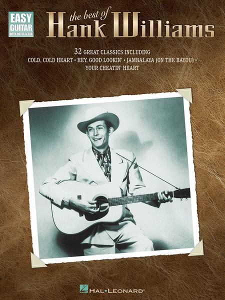 The Best Of Hank Williams - Easy Guitar