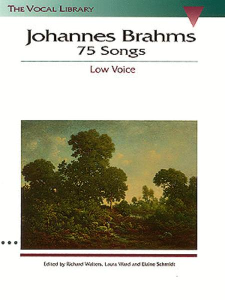 Johannes Brahms: 75 Songs