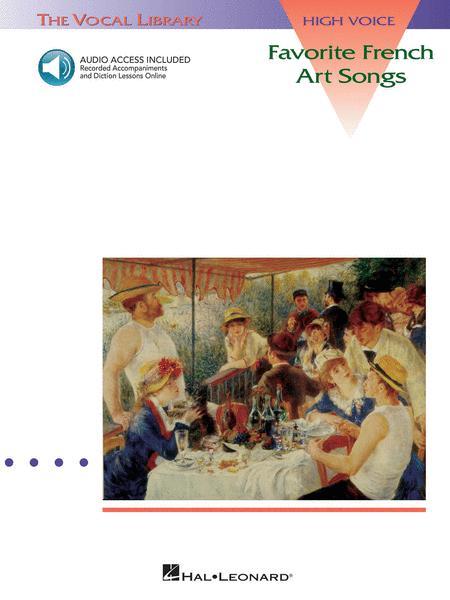 Favorite French Art Songs - Volume 1