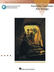 Favorite German Art Songs - Volume 1