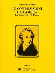 15 Composizioni Da Camera - High Voice