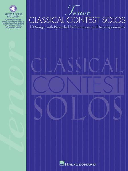 Classical Contest Solos - Tenor