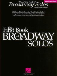 The First Book of Broadway Solos