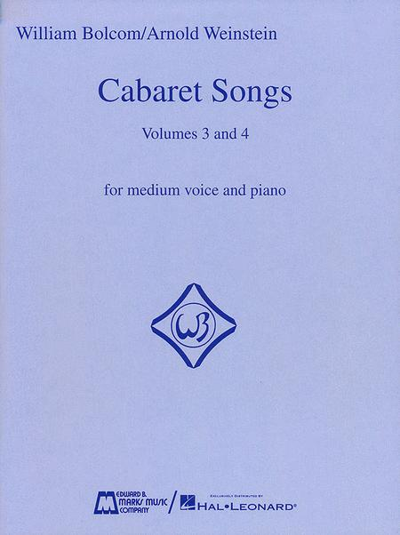 Cabaret Songs - Volumes 3 And 4