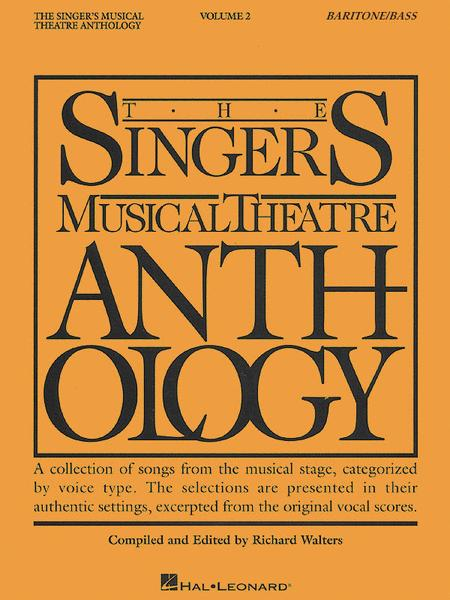 The Singer's Musical Theatre Anthology - Volume 2 - Baritone/Bass (Book only)
