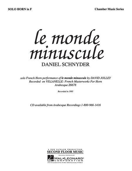 Le Monde Miniscule