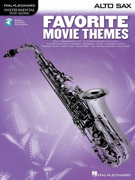 Favorite Movie Themes - Alto Sax