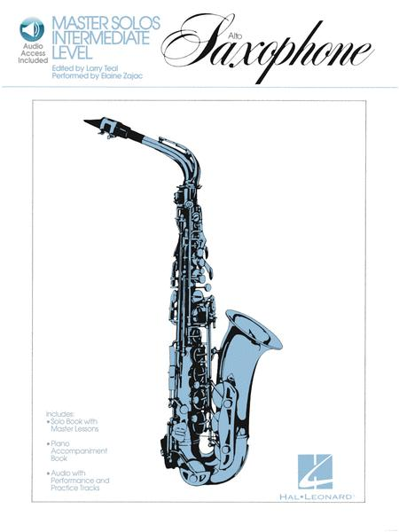 Master Solos Intermediate Level - Alto Sax