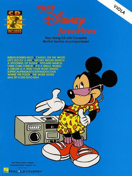 Easy Disney Favorites - Viola