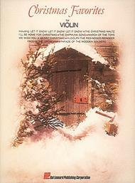 Christmas Favorites (Violin)
