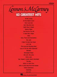 Lennon & McCartney - 60 Greatest Hits - Violin