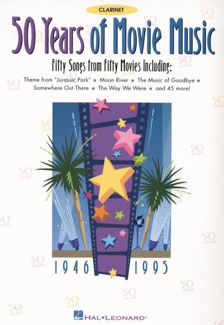 50 Years of Movie Music - Clarinet
