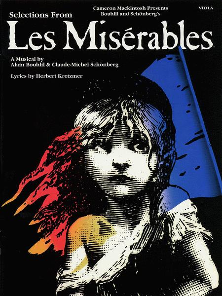 Les Miserables, Selections From - Viola