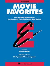 Movie Favorites - Percussion Accompaniment
