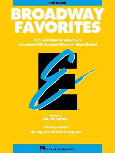 Broadway Favorites - Percussion Accompaniment